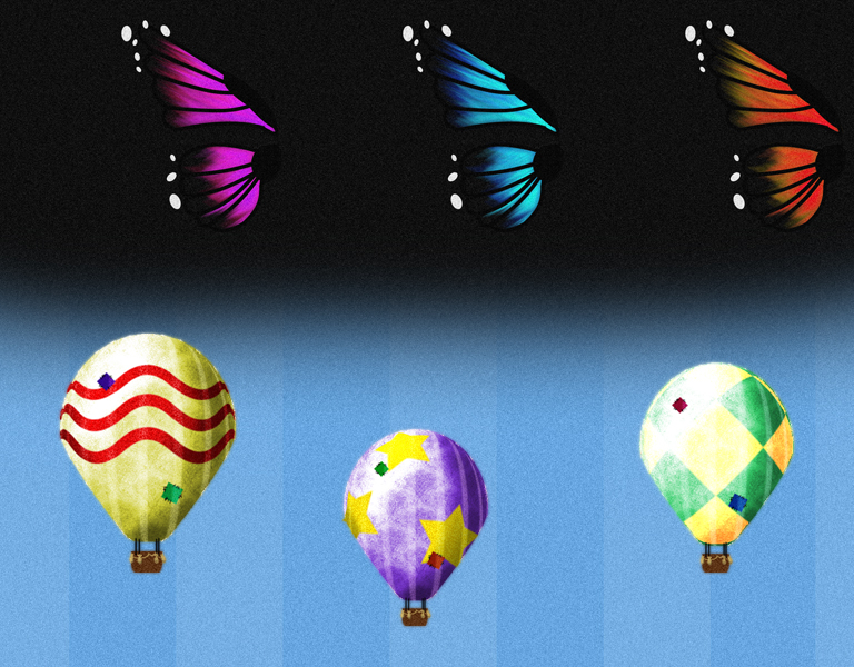 Some of the flying things in Beanstalk
